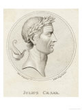 Gaius Julius Caesar Roman Emperor Giclee Print by Sophie Harding