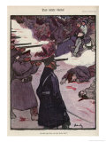 How the Tsar Deals with Complaints Giclee Print by Wilhelm Schulz