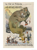 Finland Defends Itself Valiantly Against the Soviet Invasion Giclee Print by  Grand'aigle