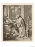 Luther at the Wartburg Giclee Print by Gustav Konig