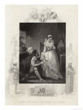 Lady Jane Grey Declining the Crown Giclee Print by J. Rogers