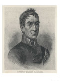 Lachlan Macquarie British Soldier and Colonial Administrator Giclee Print by G. Kruell