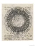 The Shield of Achilles in 12 Tables: 3 of a Town in Peace Giclee Print by Samuel Gribelin