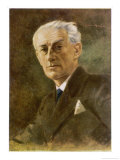 Maurice Ravel French Musician Giclee Print by Ludwig Nauer