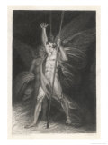 Two Eminent Devils, Satan and Beelzebub as They are Described by Milton in Paradise Lost Giclee Print by J. Rogers