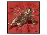 Trotsky is out of Favour Giclee Print by Wilhelm Schulz