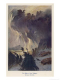 The Ride of the Valkyries Giclee Print by Hermann Hendrich