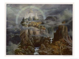 Die Gralsburg, The Castle of the Grail Giclee Print by Hans Rudolf