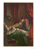Act IV Scene III: The Two Young Princes in the Tower Giclee Print by Joseph Kronheim
