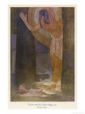 In the Temple the Chief Magician is Visited by the God Thoth in a Dream Gicléetryck av Evelyn Paul