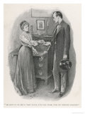 The Return of Sherlock Holmes the Adventure of the Norwood Builder Giclee Print by Sidney Hall