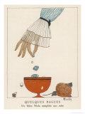 Un Bijou Tecla Complete Une Robe Giclee-trykk av Charles Martin