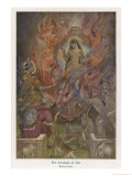 The Triumph of Sita Beloved Wife of Rama after a Succession of Adventures Gicléetryck av Evelyn Paul