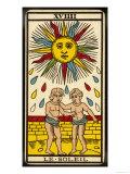 Tarot: 19 Le Soleil, The Sun Giclee Print