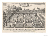 The Herb Garden of Altdorf University Switzerland Reproduction procédé giclée