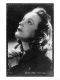Edith Piaf French Singer Giclee-trykk