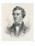 Henry David Thoreau American Writer Giclee Print