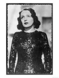Edith Piaf, portrait Reproduction procédé giclée