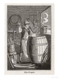 Coopers Made Flasks, Tubs and Pails Giclee Print