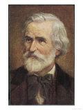 Giuseppe Verdi Italian Opera Composer Giclee Print