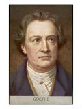 Johann Wolfgang Von Goethe German Writer and Scientist Giclee Print