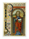 Saint Peter the First Pope Depicted Holding the Key of the Kingdom the Vatican Lámina giclée