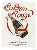 Mumm's Cordon Rouge Champagne Giclée-tryk