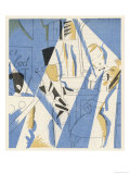 """""""Le Boeuf Sur le Toit"""", with Characters Created by Cocteau and a Decor by Dufy Giclee Print"""