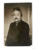 Albert Einstein German Born Physicist Winner of the Nobel Prize for Physics in 1921 Lámina giclée