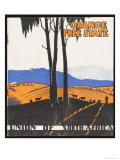 Orange Free State Giclee Print