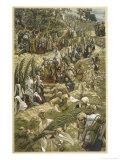 Jesus Enters Jerusalem on Palm Sunday Giclee Print by James Tissot