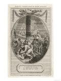 Boston Tea Party 1773 Giclée-Druck