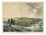 The Island of Saint-Paul in the Indian Ocean: a Former Volcano Giclée-Druck von Ferdinand Von Hochstetter