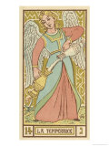 Tarot: 14 La Temperance Giclee Print by Oswald Wirth