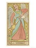 Tarot: 14 La Temperance Giclee Print by Oswald Wirth