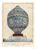 Montgolfier Ist Manned Giclee Print