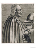 Saint Anselm Scholastic Philosopher Giclee Print by Andre Thevet