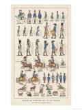 French Lead Toy Soldiers Giclee Print