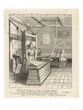 Dutch Printing House, Typesetting and Printing Giclée-Druck von Jan Van Der Velde