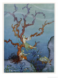 Sea-Nymphs Giclee Print by Virginia Frances Sterrett
