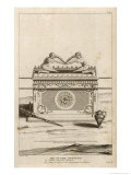 Ceremonial Objects: The Ark of the Covenant Containing the Tables of the Law Giclée-Druck von F. Van Bleyswyck