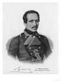Mikhail Yurevich Lermontov Russian Writer Giclée-Druck