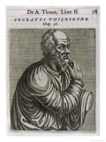 Socrates Greek Philosopher Giclee Print by Andre Thevet