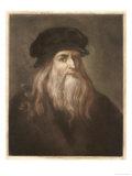 Leonardo Da Vinci Italian Painter Sculptor Architect Engineer and Scientist Giclee Print