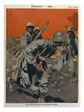 The German Army on the Western Front Makes Its Final Effort Giclee Print by Eduard Thony