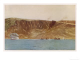Anzac Cove So Named after the Landing There Giclee Print by Norman Wilkinson