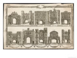 Ten of the City Gates Before Demolition: Bishopshate Giclee Print by J.g. Wooding