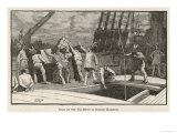 Boston Tea Party 1773 Lámina giclée