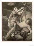 To Punish Loki the Aesir Giclee Print by M.e. Winge