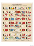 Flags and Funnels Giclee Print